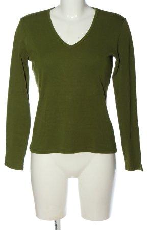 Marc O'Polo Koszulka z długim rękawem zielony W stylu casual