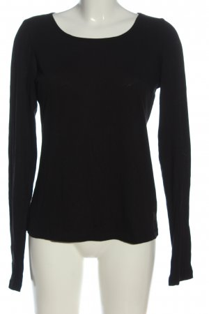 Marc O'Polo Longsleeve black cable stitch casual look