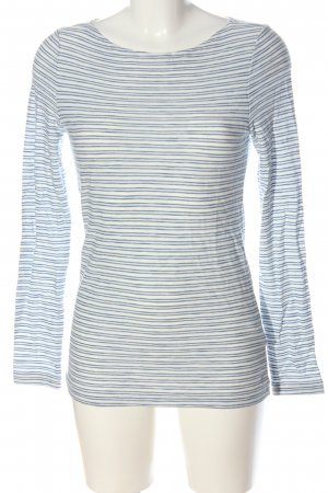Marc O'Polo Longsleeve blue-white striped pattern casual look