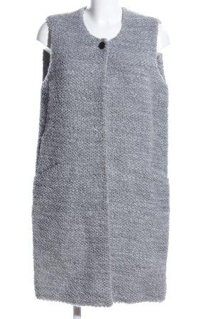 Marc O'Polo Chaleco de punto largo gris claro moteado look casual