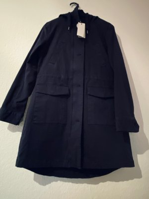 Marc O'Polo Abrigo con capucha azul oscuro