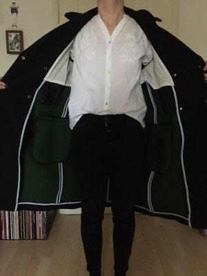 Marc O'Polo Abrigo de lana negro