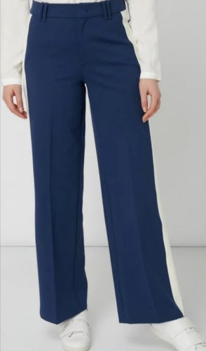 Marco Polo Marlene Trousers natural white-blue