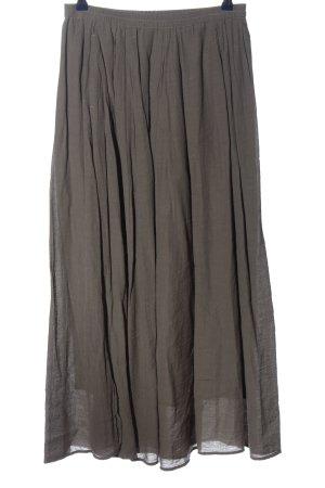 Marc O'Polo Maxi Skirt light grey casual look