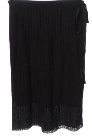 Marc O'Polo Midi Skirt black striped pattern casual look