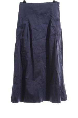 Marc O'Polo Midirock blau Casual-Look