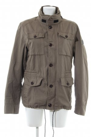 Marc O'Polo Militair jack bruin casual uitstraling