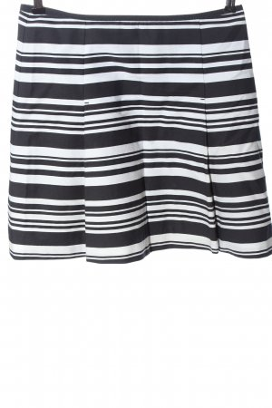 Marc O'Polo Mini rok zwart-wit gestreept patroon casual uitstraling