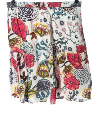 Marc O'Polo Mini rok wit-rood volledige print casual uitstraling
