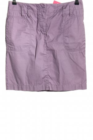 Marc O'Polo Minirock lila Casual-Look