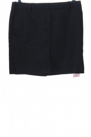 Marc O'Polo Minirock schwarz Streifenmuster Business-Look