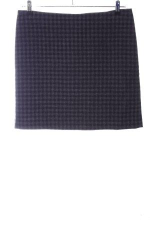 Marc O'Polo Mini rok zwart-lichtgrijs volledige print zakelijke stijl