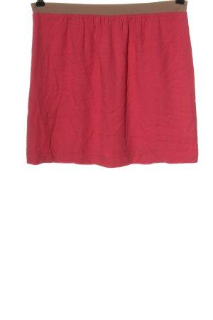 Marc O'Polo Minirock pink-braun Casual-Look