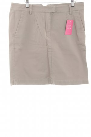 Marc O'Polo Mini rok wolwit-lichtgrijs casual uitstraling