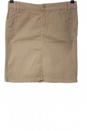 Marc O'Polo Minirock goldfarben Casual-Look