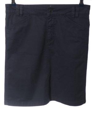 Marc O'Polo Minirock blau Casual-Look