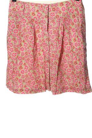 Marc O'Polo Mini rok roze-groen volledige print casual uitstraling