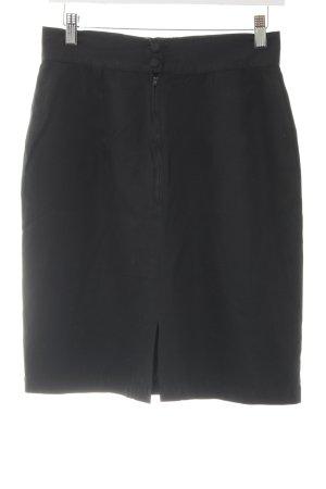 Marc O'Polo Mini rok zwart zakelijke stijl