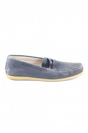 Marc O'Polo Mocassins blauw casual uitstraling