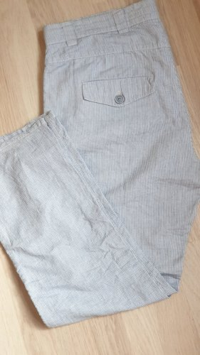 Marc O'Polo Stretch Trousers white-neon blue cotton