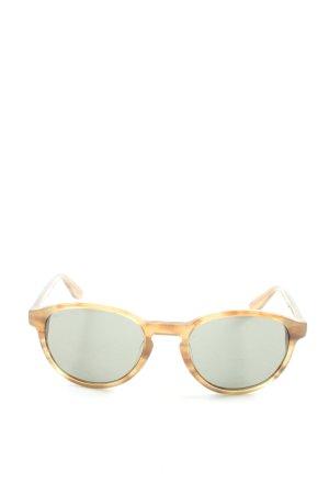 Marc O'Polo ovale Sonnenbrille hellorange-hellgrau Casual-Look