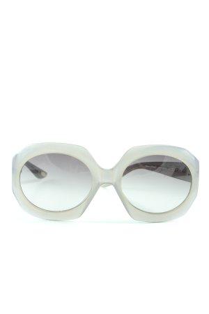 Marc O'Polo Occhiale da sole ovale grigio chiaro stile stravagante