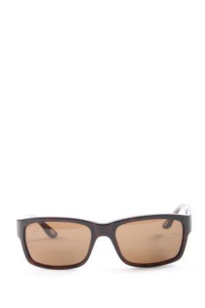 Marc O'Polo Lunettes de soleil ovales brun gradient de couleur