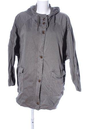 Marc O'Polo Oversized Jacke hellgrau Casual-Look