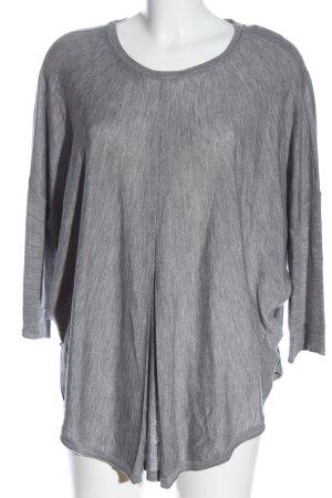 Marc O'Polo Oversized Pullover hellgrau Casual-Look