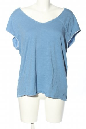 Marc O'Polo Oversized Shirt blau Casual-Look