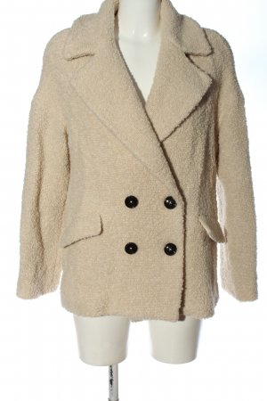 Marc O'Polo Giacca di lana bianco sporco puntinato stile casual