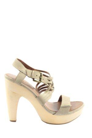 Marc O'Polo Platform High-Heeled Sandal cream casual look