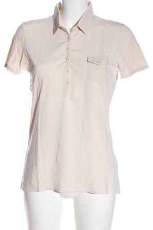 Marc O'Polo Camiseta tipo polo blanco puro look casual