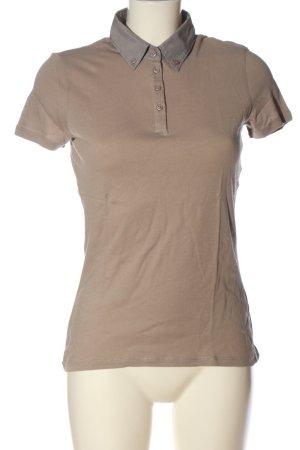 Marc O'Polo Polo-Shirt braun Casual-Look