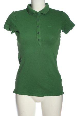 Marc O'Polo Camiseta tipo polo verde look casual