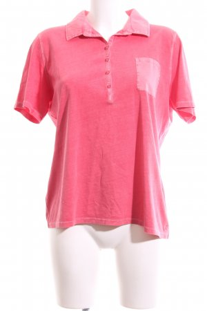 Marc O'Polo Polo-Shirt pink Casual-Look