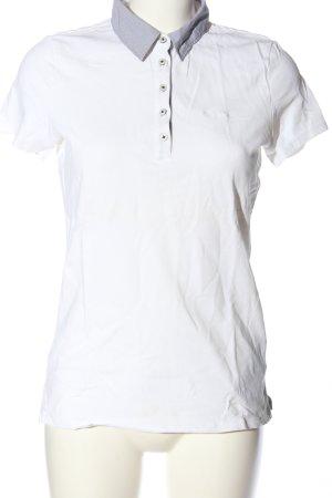 Marc O'Polo Polo-Shirt weiß Casual-Look