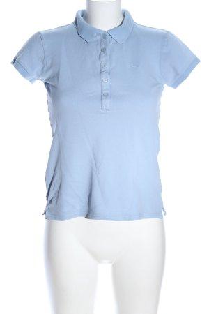 Marc O'Polo Polo-Shirt blau Casual-Look