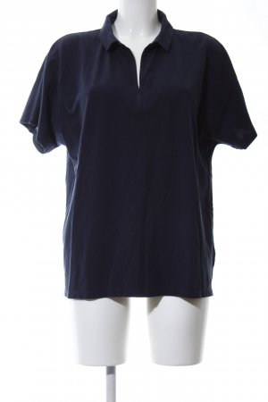Marc O'Polo Polo-Shirt blau Casual-Look