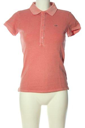 Marc O'Polo Camiseta tipo polo rosa look casual