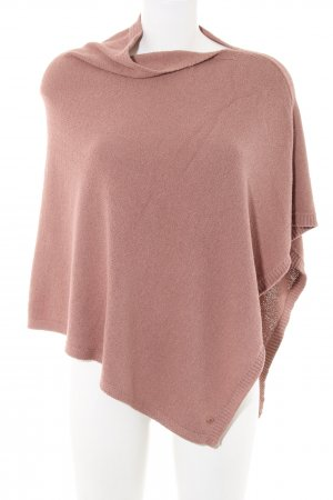 Marc O'Polo Poncho roze casual uitstraling