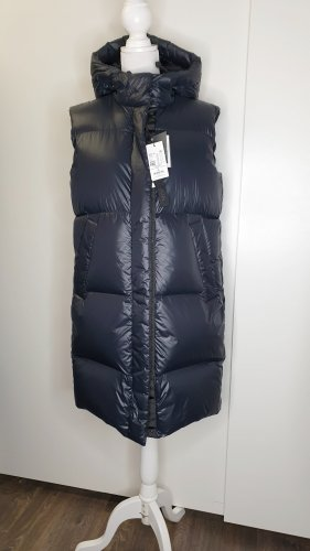 Marc O'Polo Down Vest black-dark blue
