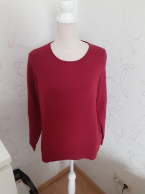 Marc O'Polo Maglione di lana rosso scuro