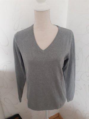 Marc O'Polo Maglione di lana grigio chiaro-grigio