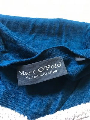 Marc'o Polo Pullover Wolle Petrol L 40