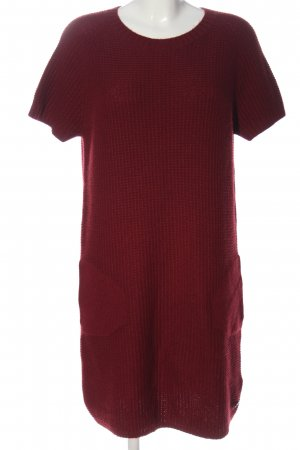 Marc O'Polo Pulloverkleid rot Casual-Look