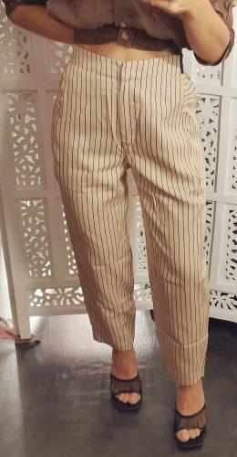 Marc O'Polo Pantalón tipo suéter negro-crema