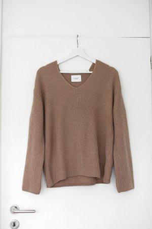 Marc O'Polo Coarse Knitted Sweater camel