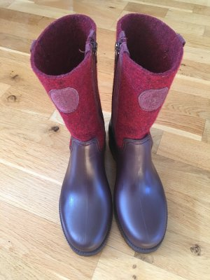 Marc O'Polo Wellies dark red