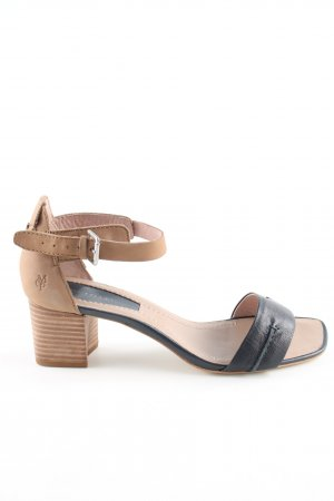 Marc O'Polo Strapped pumps black-nude casual look